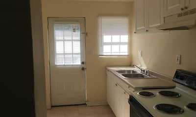 Kitchen, Pursley Court Apartments, 1