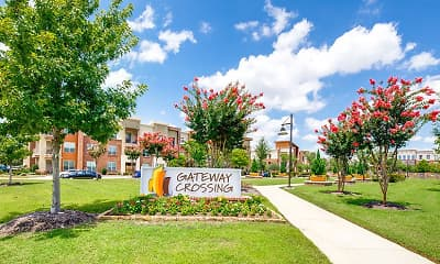 Community Signage, Gateway Crossing, 2