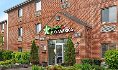 Community Signage, Furnished Studio - Fort Wayne - North, 0