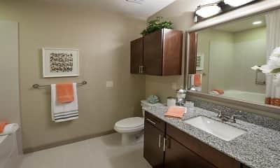 Bathroom, Telfair Lofts, 2