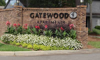 Community Signage, Gatewood Apartments, 0