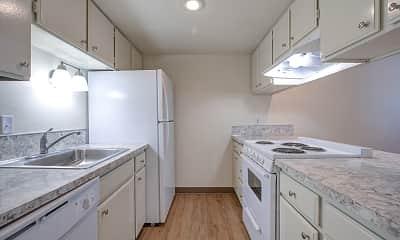 Kitchen, Brookshire Townhome Apartments, 0