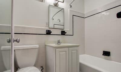 Bathroom, 4801 Connecticut Avenue Apartments, 2