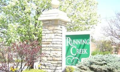 Community Signage, Running Creek, 0