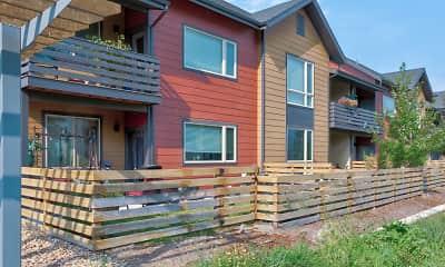 Building, Baseline Village Apartments, 1