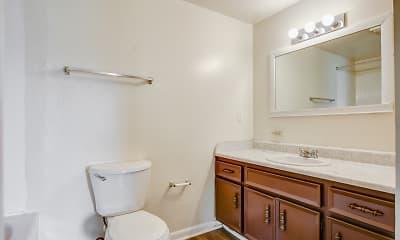 Bathroom, Beltline Villas, 2