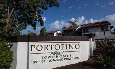 Community Signage, Portofino Townhomes, 2