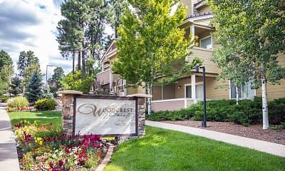 Community Signage, Woodcrest Apartments, 0