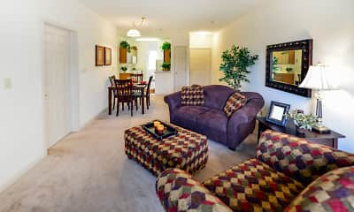 Living Room, Charter Woods, 1