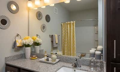 Bathroom, West Woods Apartments, 2