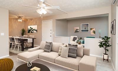 Living Room, Spring Acres, 0