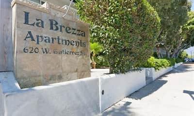 Community Signage, La Brezza Apartments, 1