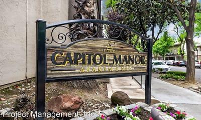 Community Signage, Capitol Manor, 1