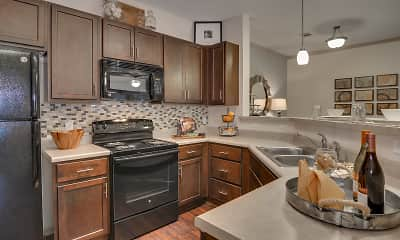 Kitchen, Lullwater at Riverwood Luxury Apartment Homes, 0