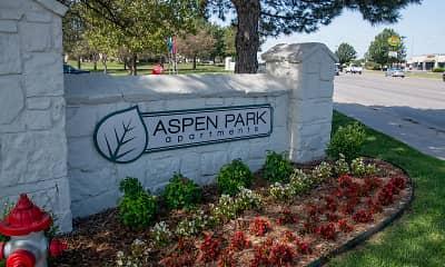 Community Signage, Aspen Park Apartments, 0