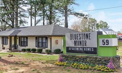 Community Signage, Bluestone Manor, 2