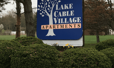 Community Signage, Lake Cable Village Apartments, 2
