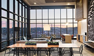 Dining Room, SkyVue Apartments, 1