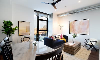 Dining Room, The Irvine Apartments, 0
