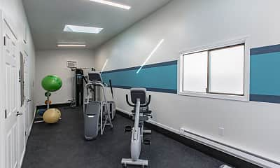 Fitness Weight Room, The Lakes, 2