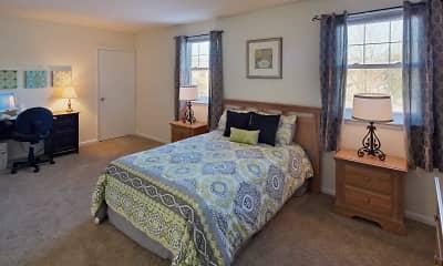 Bedroom, Pickwick Apartments, 2