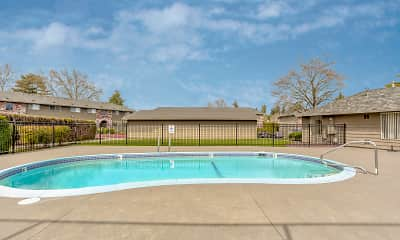 Pool, Stafford Court Apartments, 1