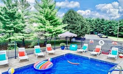 Pool, Apple Villa Apartments, 1