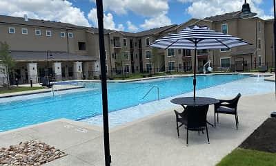 Pool, Hills at Leander, 2
