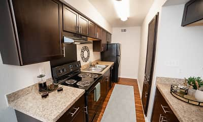 Kitchen, Saddle Horn Vista, 1
