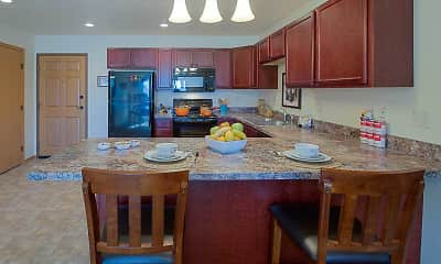 Kitchen, Country View Apartments, 0