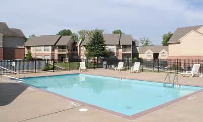 Pool, Big Creek Apartments, 1