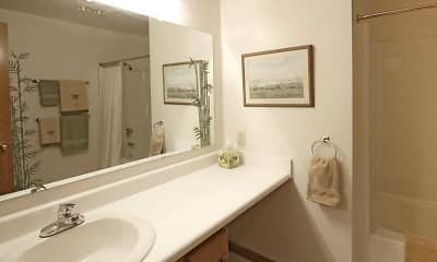 Bathroom, The Shores Apartments, 2
