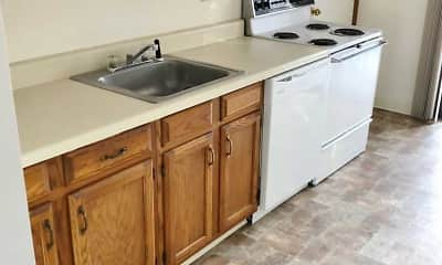 Kitchen, Springside Gardens, 1