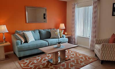 Living Room, Sandy Lane, 1