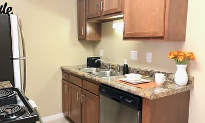 Kitchen, The Ridge Apartments, 1