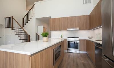 Kitchen, The Dayton Luxury Apartments, 0