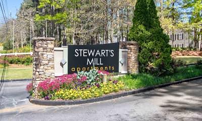 Community Signage, Stewart's Mill, 0
