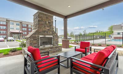 Patio / Deck, Traditions at Hamilton Springs, 2