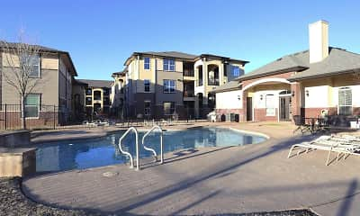 Pool, Greenmark At Andrews Apartments, 1