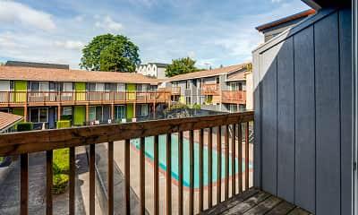 Patio / Deck, Moreland Place, 2