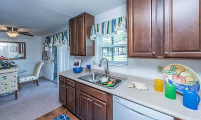 Kitchen, Anchorage Apartments, 2