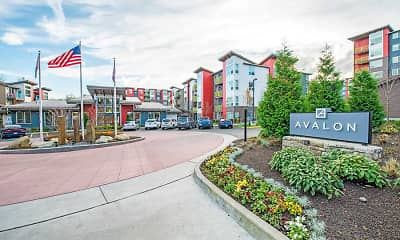 Community Signage, Avalon Alderwood, 2