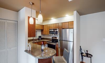 Kitchen, Edgar Apartments, 0