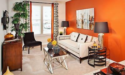 Living Room, Palette at Arts District, 1