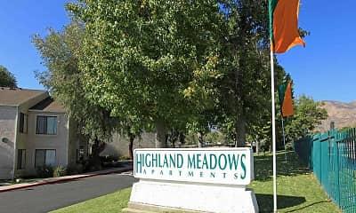 Community Signage, Highland Meadows, 2