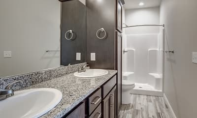 Bathroom, Emerald Villas 55+, 2