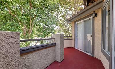 Patio / Deck, Brookwood Villas, 2
