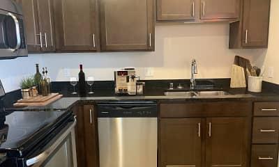 Kitchen, Galaxie High Rise Apartments, 1
