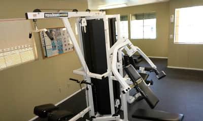 Fitness Weight Room, Val Vista Gardens, 2