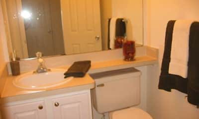 Bathroom, Tree Top Meadows Apartments, 2